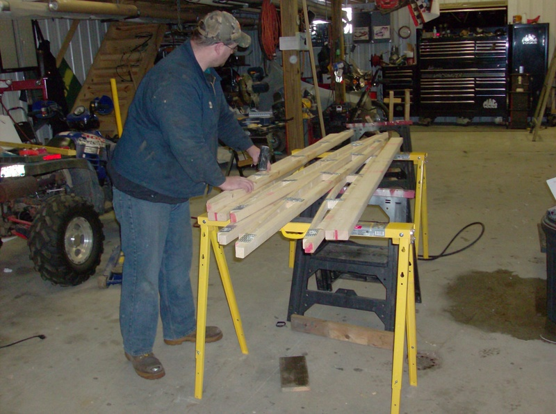 we order construction  lumber to make are own trusses